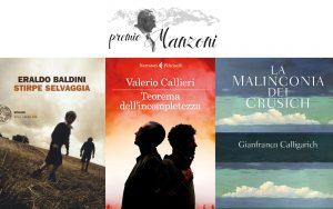 Premio Letterario Manzoni finalisti 2017