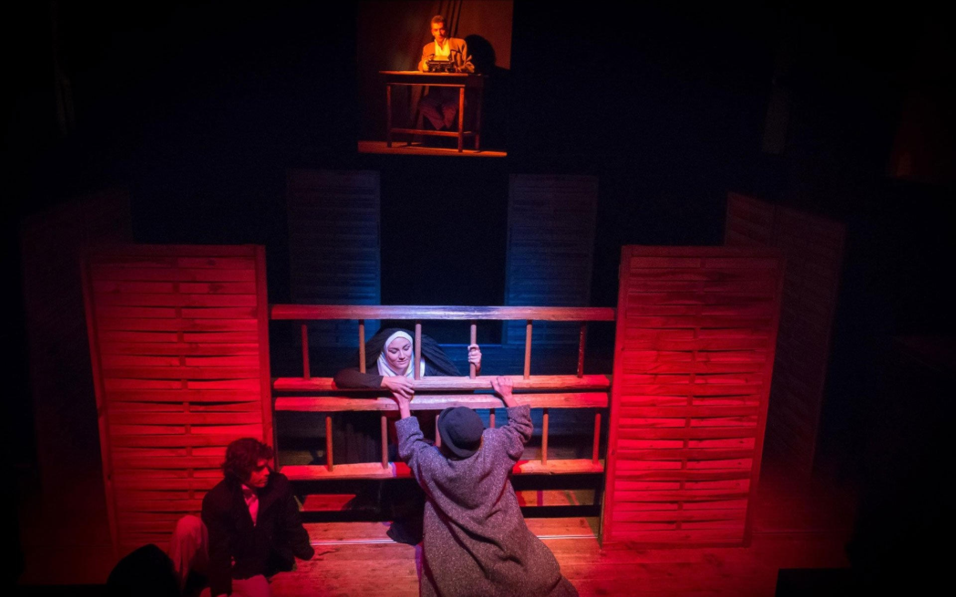Renzo e Lucia teatro De Gli Incamminati